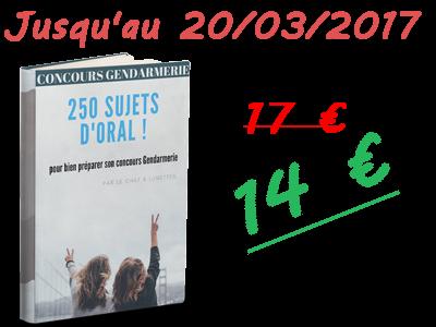 250 sujets 14€ promo